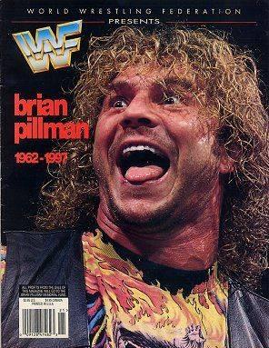 Magazine de la WWWF Brian Pillman