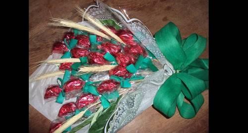 bouquet de bombom chocolate